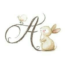 Easter letter A