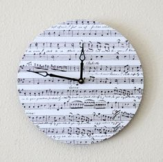 New Year Sale Modern Wall Clock Home and Living by Shannybeebo