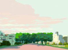 Familiar Landscapes BY Tatsuro Kiuchi