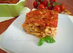 Pasta al forno  http://blog.giallozafferano.it/rafanoecannella/pasta-forno/