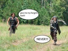 Lmao Daryl will always be my twd main squeeze but Jesus is a looker ;)