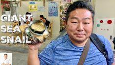 LIVE GIANT SEA SNAIL - Clean and Cook 2 Ways | Okinawa Street Food - YouTube Japanese Street Food, Japanese Chef, Thai Street Food, Indian Street Food, Korean Fashion Ulzzang, Ulzzang Korea, Abalone Recipe, Filipino Recipes, Filipino Food