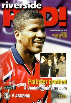 Boro V Arsenal 1999 Cover Star Hamilton Ricard