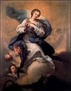 Inmaculada. 1765. Óleo sobre lienzo. 1,39 x 1,11. Colección particular. Madrid