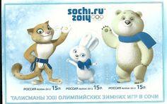 Mascotas de los JJOO de invierno Sochi 2014 en Rusia