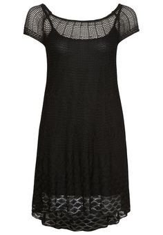 Benetton - Jumper dress - black