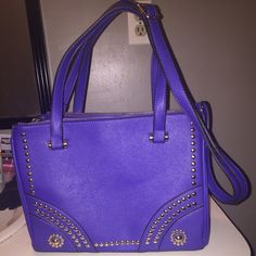 Royal Blue Handbag Used only a handful of times with lots of life left to it. It's a royal blue colored purse with a long strap for convenient carrying. Purchased at a local boutique, simply do not have a need for it. Bags Shoulder Bags