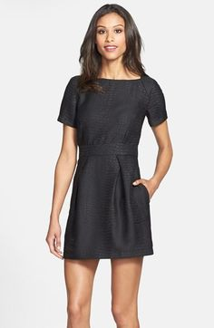Little Black Dresses! - Design Chic - love the lines of this dress but need it to be a bit longer.