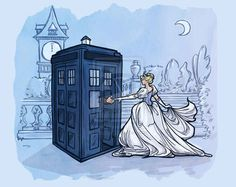 "Cinderella - Cinderella | 10 Disney Heroines Chosen To Be ""Doctor Who"" Companions"