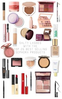 Best Selling Beauty Products at Sephora | Salty Lashes