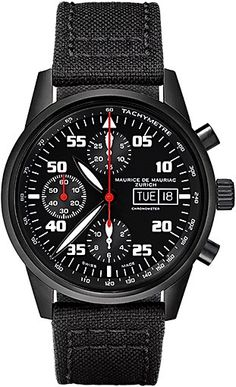 Chronograph ModernChronograph Modern watch from Swiss Watchmaker Maurice de Mauriac. Swiss watches for men. Visit our website for more luxury swiss watches: http://www.mauricedemauriac.ch/