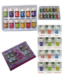 [Visit to Buy] Essential Oils Pack for Aromatherapy Spa Bath Massage Skin Care Lavender Oil With 12 Kinds of Fragrance 3ML #Advertisement