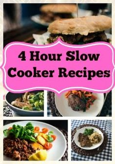 4 hour slow cooker r