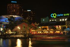 Pinned Clarke Quay, Singapore as favorite places