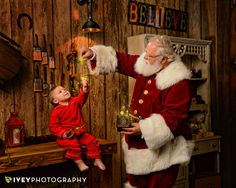 Fine Art Santa Portraits - Best Santa Portraits in Dallas Fort Worth Texas Santa's Magic Workshop