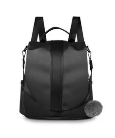 9bed11537df9 Fashion Backpack for Women Waterproof Nylon Anti Theft Bag Ladies Rucksack  School Shoulder Bag for Girls - Black - CS18H57SI7W