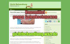 Hausmittel gegen Gelenkschmerzen - Behandlung von Gicht Sprain, Gout, Arnica Montana, Natural Remedies, Peppermint, Home Remedies