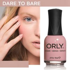 Dare to Bare - Spring 2014 #orlynails #blush