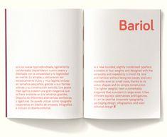 Bariol Typeface