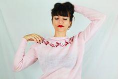 Jersey vintage de lana. Años 80. Talla S M. por Torreillinoise