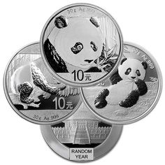 Chinese Silver Panda, 30 Grams .999 Pure Silver Coins For Sale, Silver Eagle Coins, Silver Eagles, Metal Prices, Silver Prices, Lloyd's Of London, Coin Collecting, Sell Items, Precious Metals