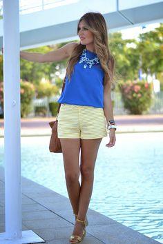 Żółto-KLEIN | Moja przygoda z modą