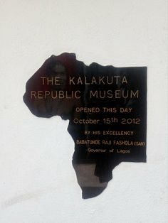 Located on No. 7 Gbemisola street, Allen avenue, Ikeja, the kalakuta republic museum stands in the 3rd and last residence of the renowned Fela Kuti. You have to inform them in time, a day before going. You can do that via their facebook page. I … Fela Kuti, Museums, Cards Against Humanity, Facebook, Street, Day, Lakes, Walkway, Museum