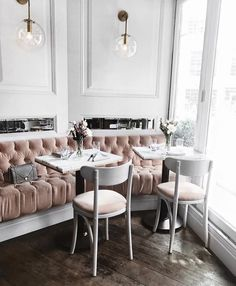New cozy restaurant seating ideas