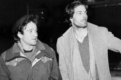 Robin Williams + Christopher Reeve when they were roommates at Juilliard studying drama. Thanks for everything Robin, RIP.