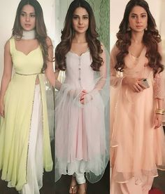 jeniffer winget in pastel suits Pakistani Dresses, Indian Dresses, Indian Outfits, Punjabi Dress, Bollywood Dress, Pakistani Suits, Saree Dress, Indian Clothes, Western Outfits