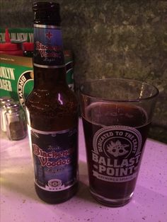 Blackened Voodoo beer at Live Bait in New York. #nyc #newyorkcity #manhattan #bigapple #beer