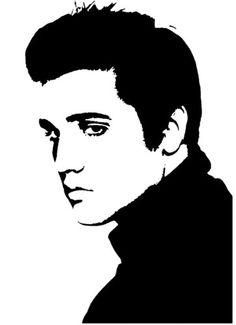 New Custom Screen Printed Tshirt Elvis by screenprintedtshirts, $16.00