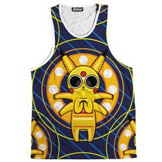 Acid Pikachu Tank from Beloved Shirts