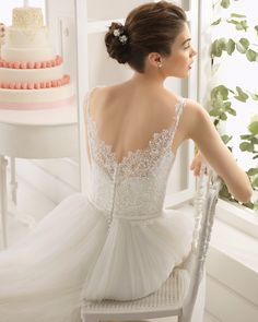 ASTRID-Aire Barcelona 2015 #wedding-dresses, #AIREBARCELONA2015, #свадебные-платья-2015