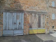 Twin multy colour doors @wannamariafiori