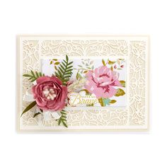 Filigree Façade Frame Etched Dies from Make a Scene Collection by Becca Feeken Coming Soon, Becca, Filigree, Facade, Scene, Collection, Home Decor, Decoration Home, Room Decor