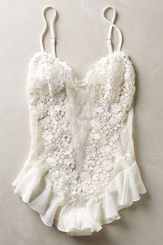 Fleur Flutter Bodysuit - anthropologie.com