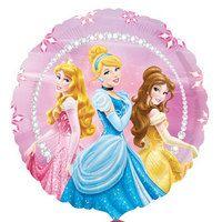 "Disney Princess Foil Balloons, 18"""