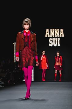 Anna Sui FW13 - I haven't been in love with a collection in a while.