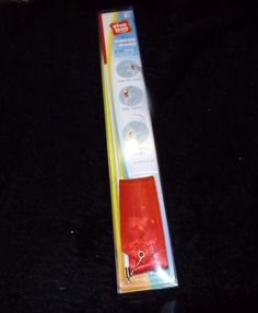 """Parade style ribbon wand red cheer marching weddings Play Day new 19""""  pole #playday"""