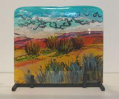 Desert Colors: Alice Benvie Gebhart: Art Glass Sculpture | Artful Home
