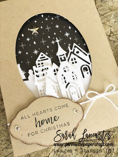 new Stampin' Up! catalogue - click to see more photos of these beautiful dies and stamps | Hearts come Home for Christmas