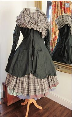 http://www.berenice.me.uk/ maybe a bit too costumey for me wear everyday but so wonderful. Love the plaid