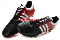 the latest f59e0 3bbc8 Adidas 11Pro SL Micoach FG Limited Black Red White  Red  Womens  Sneakers
