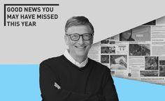 Bill Gates has some good news you may have missed in 2014: We hit a big milestone in fighting #AIDS