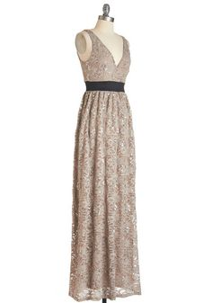Next Taupe Model Dress | Mod Retro Vintage Dresses | ModCloth.com