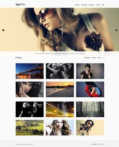 Egofolio     Responsive, Full-photo,  One-Page, Wordpress Template     themeforest     http://demo.undsgn.com/egofolio/light/portfolio/