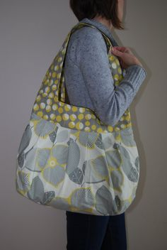 Amy Butler Flower Sling Bag by stitch248 on Etsy, $65.00