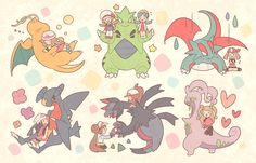 Pokemon, dragonite, tyranitar, salamence, garchomp, hydreigon, goodra
