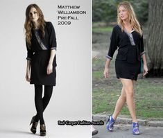 On The Gossip Girl Set With Blake Lively In Matthew Williamson & Topshop